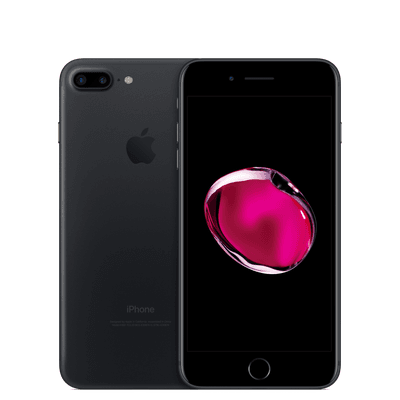 iPhone 7 Plus 32GB Black Mate 5.5 Pantalla Libre