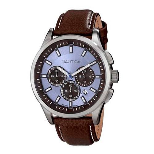 Reloj cronógrafo nct azul-café 694G