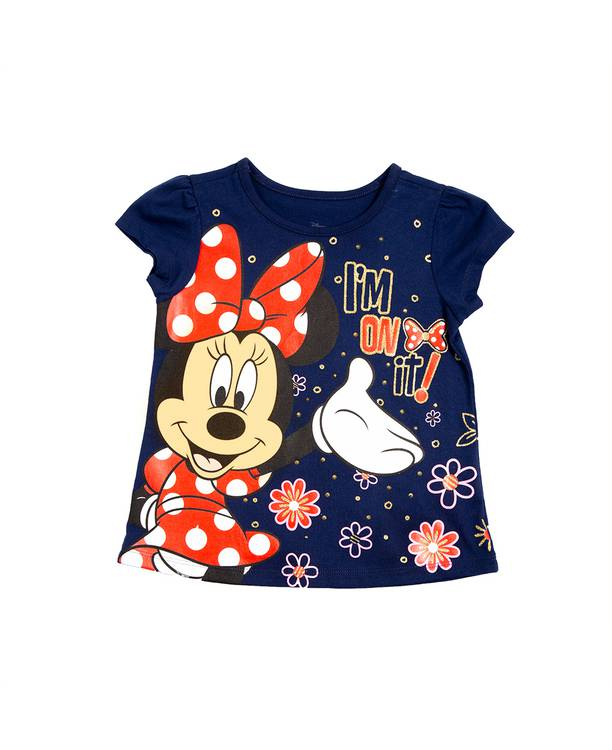 Camiseta Caminadora Minnie