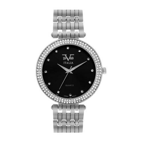 Reloj negro-plateado 67-2