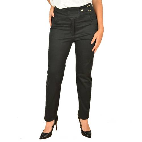 Pantalon Fe-E. Brillo 800522 Negro -Neg - AVENZA