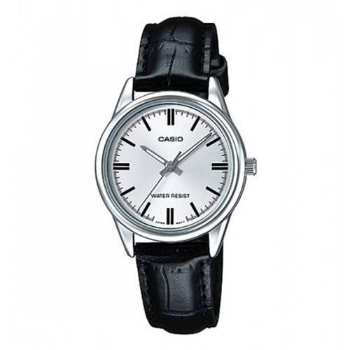 6c0c185e27e1 Reloj análogo plateado-negro L-7A - Compras Davivienda