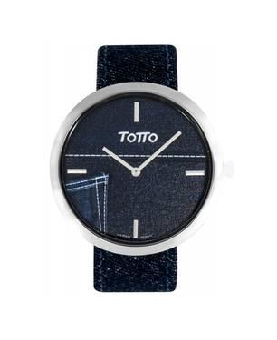 Reloj análogo azul-azul 06-4