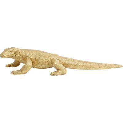 Figura deco Komodo Dragon oro 167cm