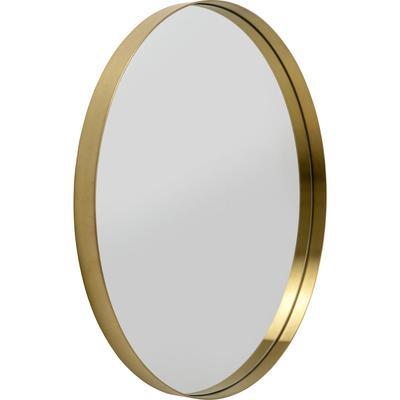 Espejo Curve latón Ø80
