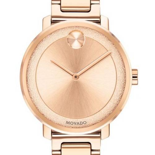 Reloj análogo oro rosa-rosa 0503