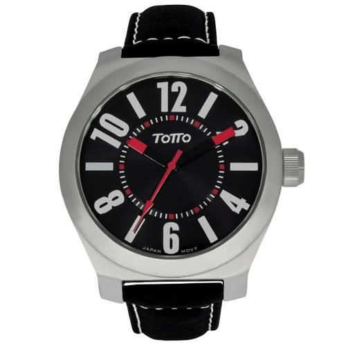 Reloj Plateado/Negro - Tr026-2
