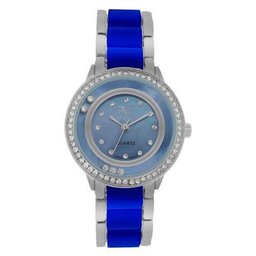 Reloj Azul-Azul Plata 92-1 - Versace