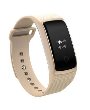Pulsera Inteligente A9 Bluetooth Color Beige Sah008 Beige - BEDATA