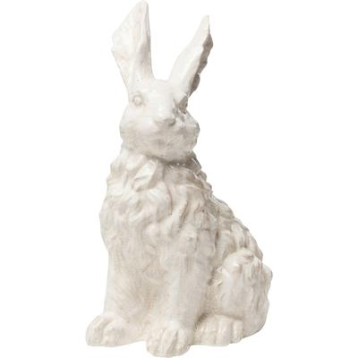 Objeto decorativo Rabbit blanco 47cm
