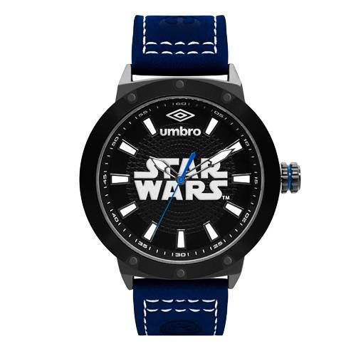 Reloj Análogo Negro-Azul Umb-Sw01-1
