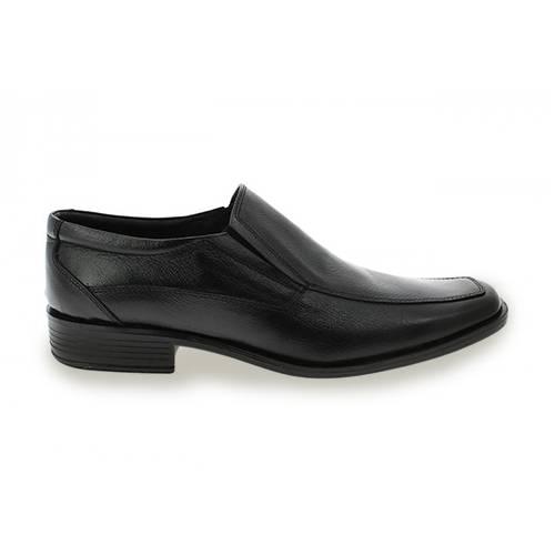 Zapato Formal Mocasín Para Hombre En Cuero Negro