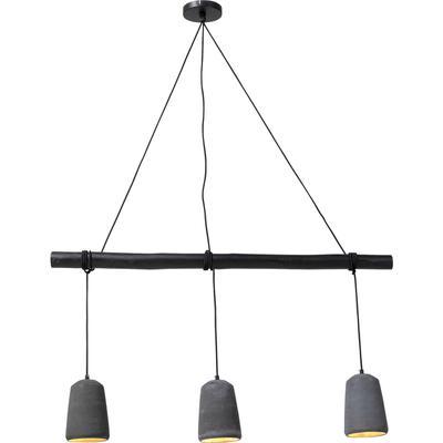Lámpara Dining Concrete negro 3