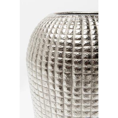 Vasija decorativa  Cubes Alu 42cm