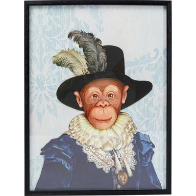 Cuadro Art Monkey Sir 80x60cm