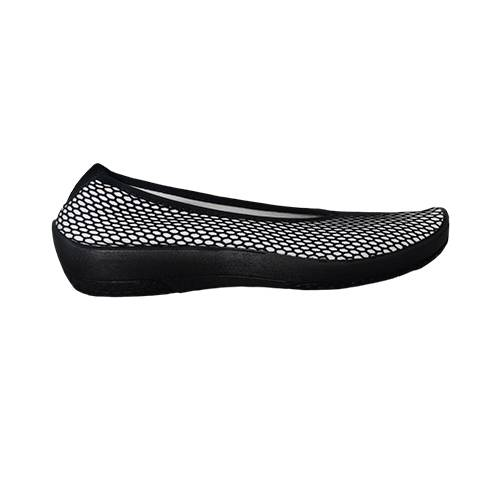 Zapatos Casual Blanco-Negro