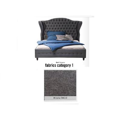 Cama City Spirit, tela 1 - Kitana 9410, (120x156x260cms), 180x200cm (no incluye colchón)