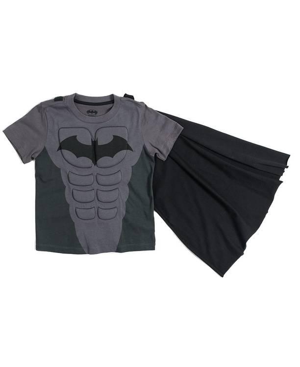 Camiseta Con Capa Niño Batman
