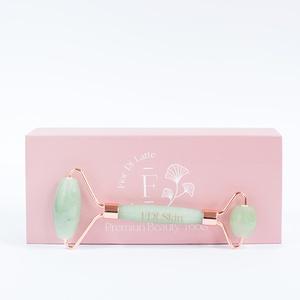 Masajeador Facial Face Roller Jade Verde x 1
