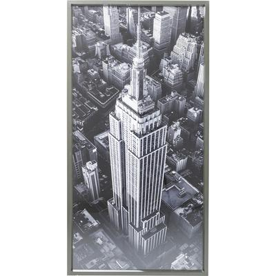 Cuadro Empire State Building View 166x86 cm