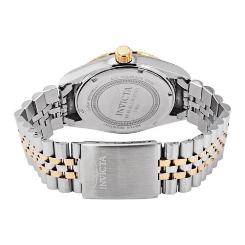 Reloj análogo dorado-multicolor 9382