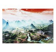 Cuadro cristal River To The Mountains 100x150cm