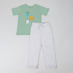 Conjunto pantalón punto-camiseta mc Little Boy