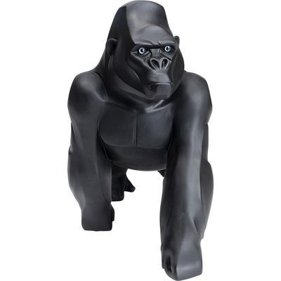 Figura deco Proud Gorilla negro 57cm