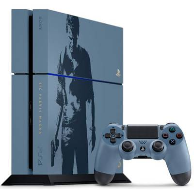 PlayStation 4 500GB Edicion Limitada Uncharted 4