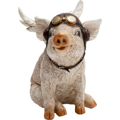 Objeto decorativo Aviator Pig