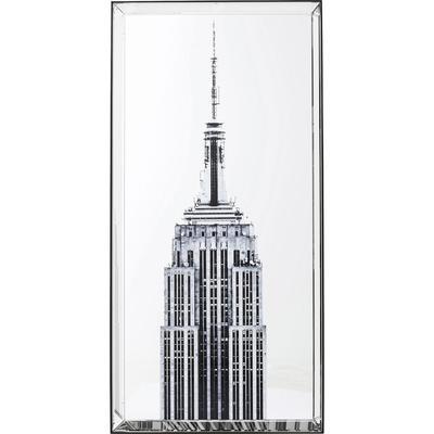 Cuadro espejo Empire State Building 120x60cm