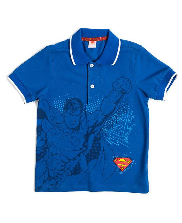 Camiseta Caminador polo Superman