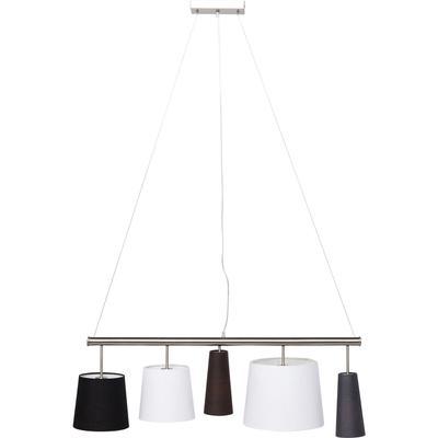 Lámpara Parecchi plata 100cm