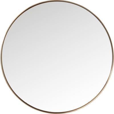 Espejo Curve redondo cobre Ø100cm