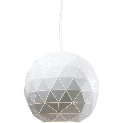 Lámpara Triangle blanco Ø60cm