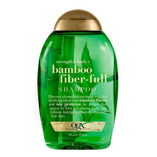 Shampoo bamboo fiber verde