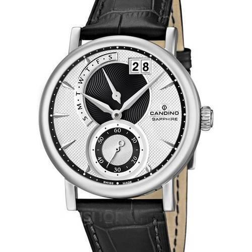 Reloj negro-blanco 85-2