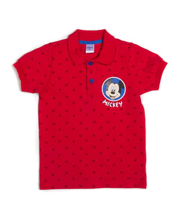 Camiseta Polo Caminador Mickey