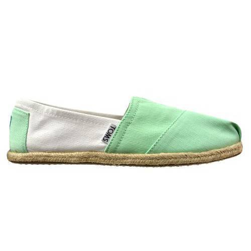 Zapatos Verde Blanco