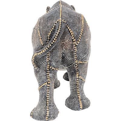 Objeto decorativo Rhino Rivets Pearls 18