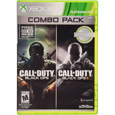 Call Of Duty: Black Ops 1 & 2 Combo Pack Xbox 360