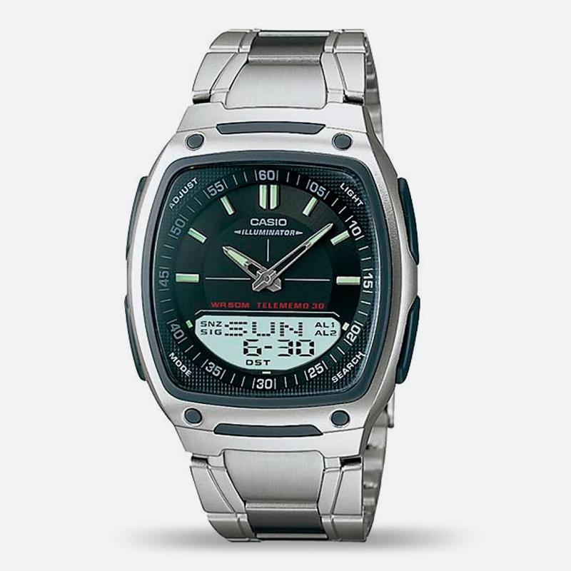 Reloj anadigi negro plateado D 1A Geelbe en MODO OUTLET