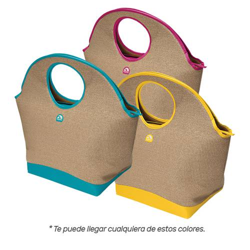 Lonchera Blanda Playa Colores Surtidos Multicolor 90841 Multicolor - Igloo
