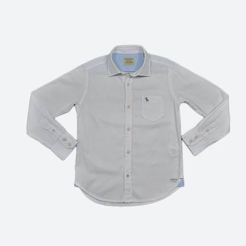 Camisa L/S Riverside Oxford Shirt White - Rosé Pistol