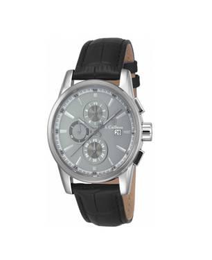 Reloj análogo gris-negro 0259