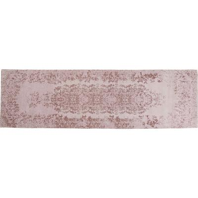 Alfombra Vintage rosa 80x270cm
