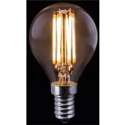 Bombilla de filamento LED transparente P45