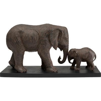 Objeto decorativo Elephant Family