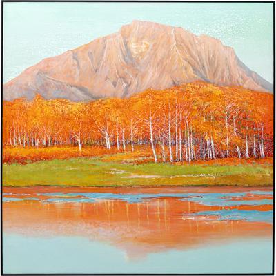 Cuadro lienzo Autumnal 120x120cm