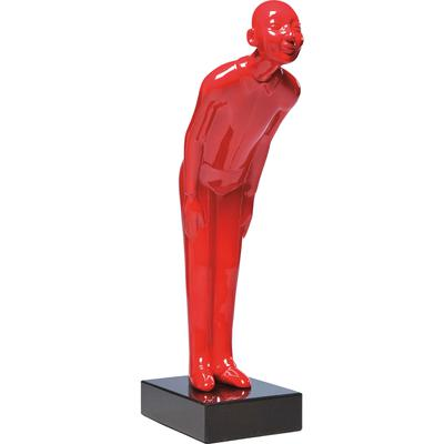 Figura decorativa Welcome Guests rojo pequeño